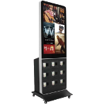 Handyladetstation, Elektronische Werbung am POS, Handel, Trademarketing, Instore