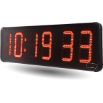 Uhren, Grossuhren, Digitaluhren, LED Uhren