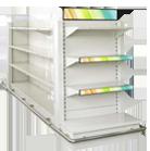 LCD Shelf Displays - Regaldisplay, Anzeigesysteme, LED Videodisplays, Digital Signage am POS, Instore, Im Handel